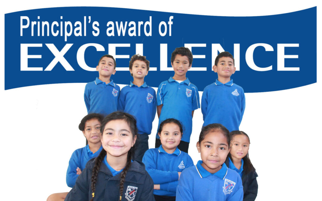 Principal's Award of Excellence, June 28